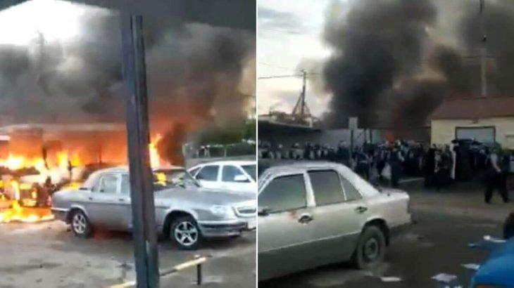 Сәтбаевтағы жаппай тәртіпсіздікке қатысқан 55 адамға сот үкімі шықты