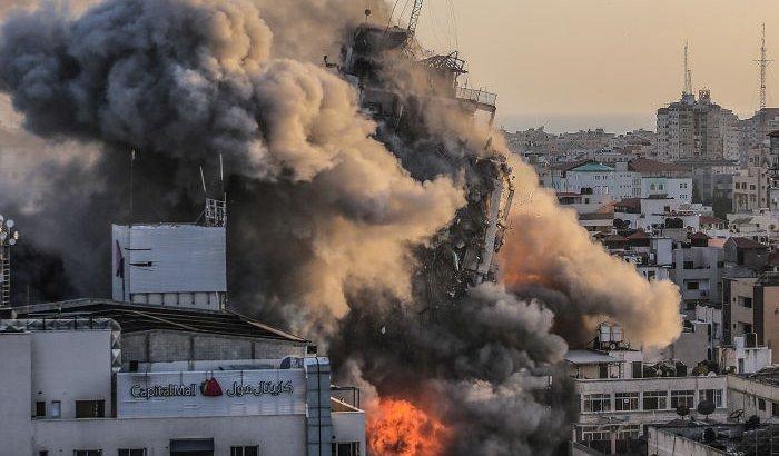 Израиль ХАМАС тобына қарсы ірі операция ұйымдастырып, 40 минутта 150 нысанды атқылады