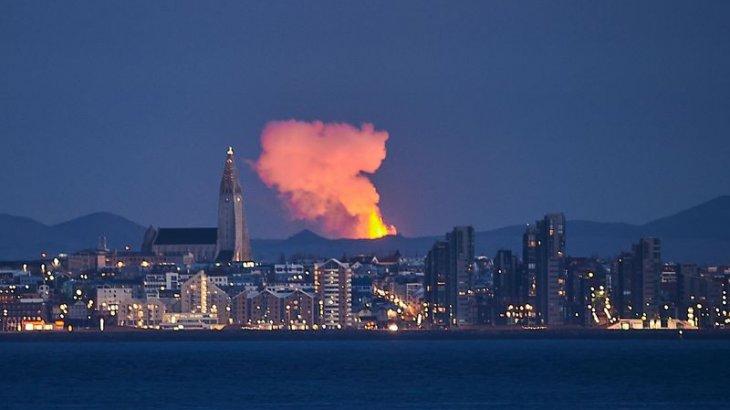 Исландияда жаңа оянған жанартау сатылып жатыр