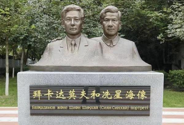 Қытайда қазақ композиторына көше аты беріліп, ескерткіш орнатылды