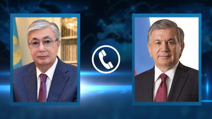 Қасым-Жомарт Тоқаев Өзбекстан Президенті Шавкат Мирзиёевпен телефон арқылы сөйлесті