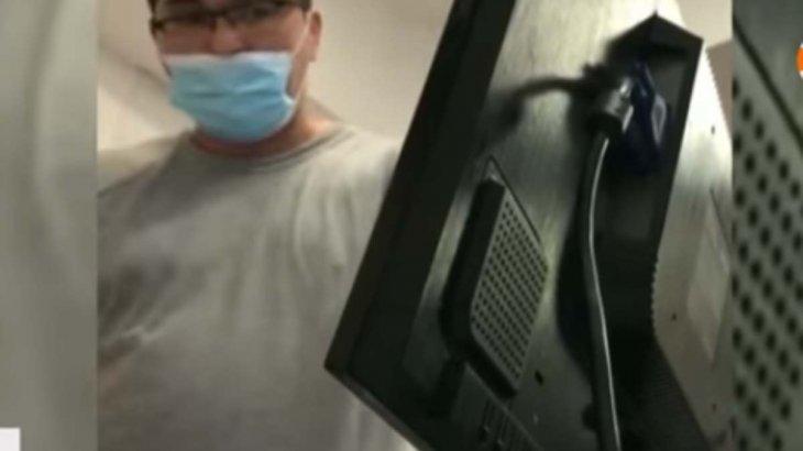 «Көресіні көрсетемін»: Қызметкеріне зірілдеп сөйлеген дәрігердің басы дауға қалды