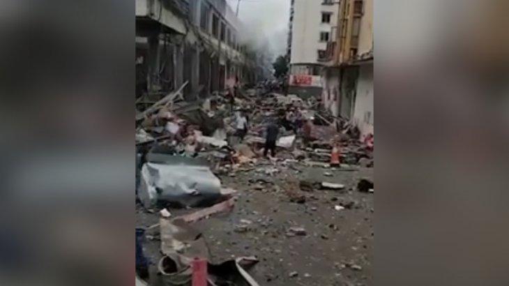 Қытайда жарылыс болды: қаза тапқандар бар