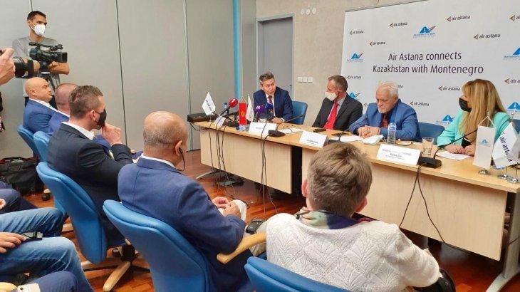 Қазақстанның Черногорияға тікелей әуе рейстері ашылды