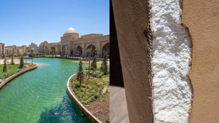 Түркістандағы «Керуен сарай» пенопласттан салынған ба? Шөкеев сынға жауап берді