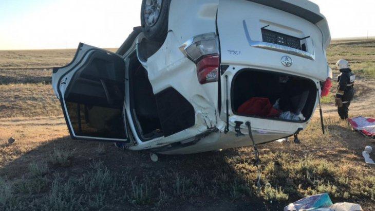 Ақтөбе облысында жол апаты болып, екі мектеп директоры қаза тапты