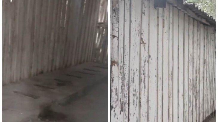 «Барып тұрған қорлық»: Алматы облысында көшедегі мектеп дәретханаcының сиқы қазақстандықтарды шошытты