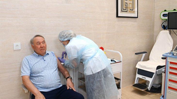 Нұрсұлтан Назарбаев коронавирусқа қарсы вакцина салдырды