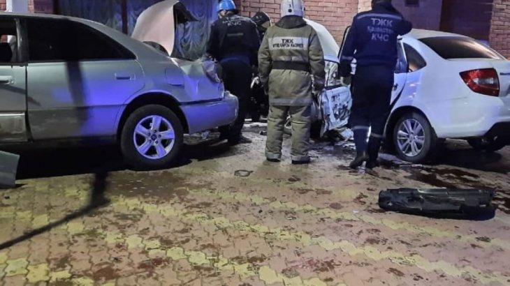 Павлодардың орталығында жол апатынан екі адам қаза тапты