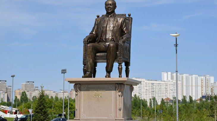 Нұр-Сұлтанда Назарбаевқа тағы бір ескерткіш орнатылды