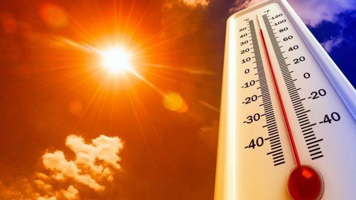 46 градусқа дейін ыстық: 13 өңірде ескерту жарияланды