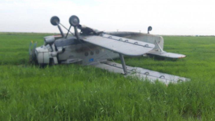 Қызылордаға жақын жерде АН-2 ұшағы құлады