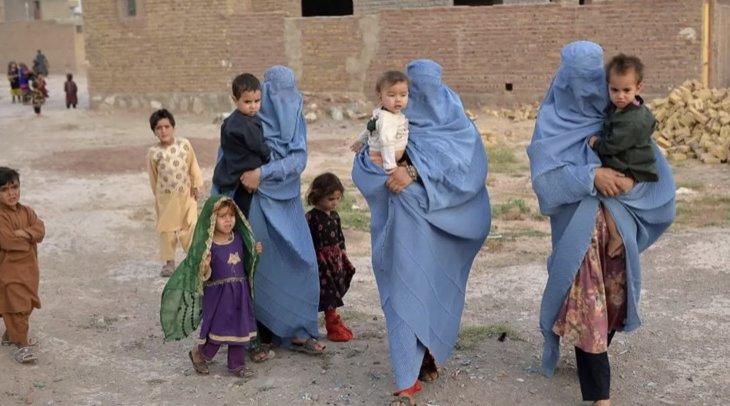 Ауғанстанда бейбіт халық баспаналарын тастап қашып жатыр