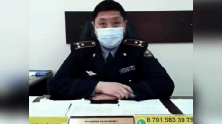 «Балағаттап, қорлады»: Алматы облысындағы шенді полицейдің дауысы жазылған аудиоматериал тарады