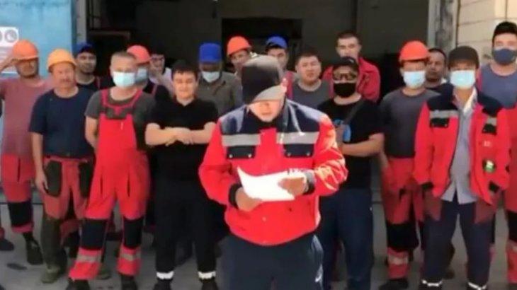 Жаңаөзенде жұмысшылар жаппай ереуілге шықты (видео)