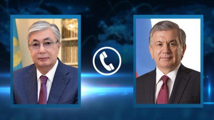 Тоқаев Өзбекстан президентін туған күнімен құттықтады
