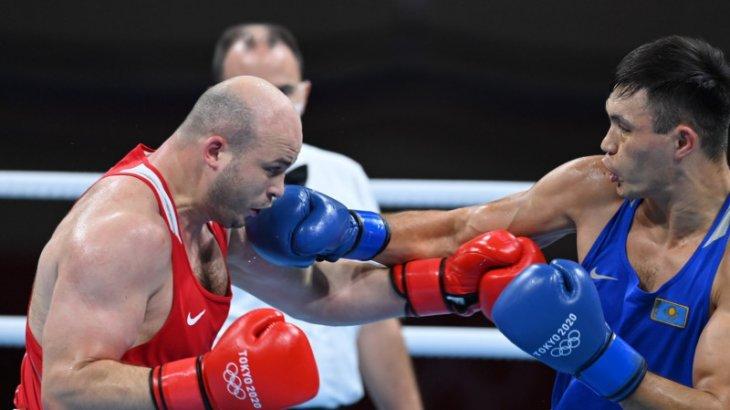 Токио Олимпиадасы: Қамшыбек Қоңқабаев жартылай финалға шықты