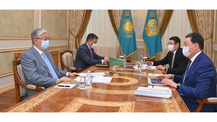 Тоқаев Премьер-Министр мен «Самұрық-Қазына» төрағасын қабылдады