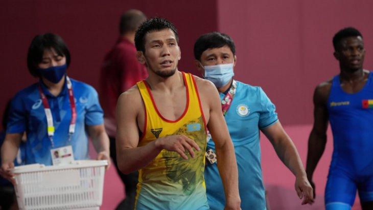 «7:0 есебімен жеңді»: Нұрислам Санаев Олимпиаданың жартылай финалында
