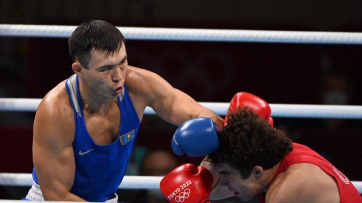 Қамшыбек Қоңқабаев жартылай финалда жеңіліп, қола медаль иеленді