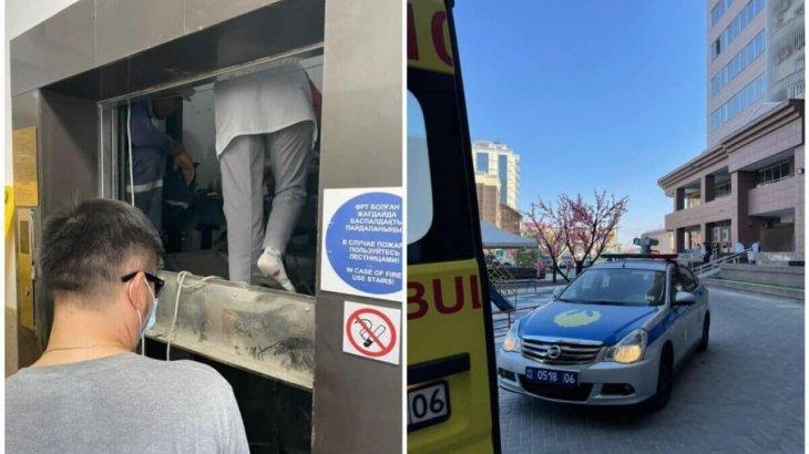 Атырауда 15-қабаттан лифт  құлап, 1 адам қаза болған