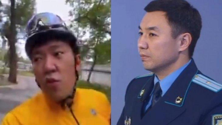 «Әжелерді қағып кете беремін»: Алматы полиция департаменті танымал блогердің сөзіне шүйлікті
