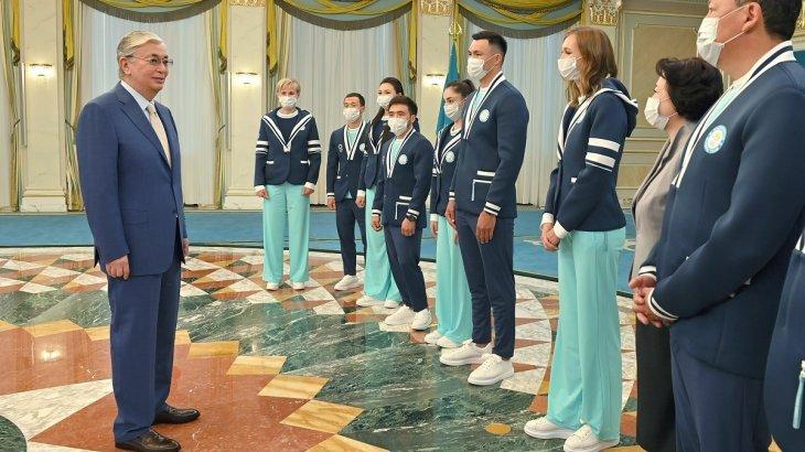 Президент Токио Олимпиадасының жүлдегерлерін марапаттады