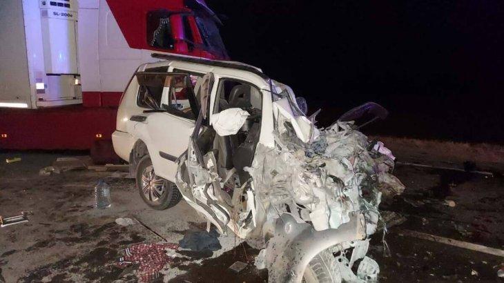 Жантүршігерлік жол апаты: Ақтөбе облысында бір отбасының төрт мүшесі мерт болды