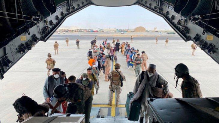 Кабулдан Алматыға БҰҰ-ның 100-ге жуық адам эвакуацияланды