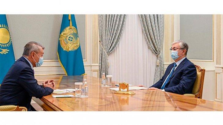 Мемлекет басшысы Шығыс Қазақстан облысының әкімін қабылдады