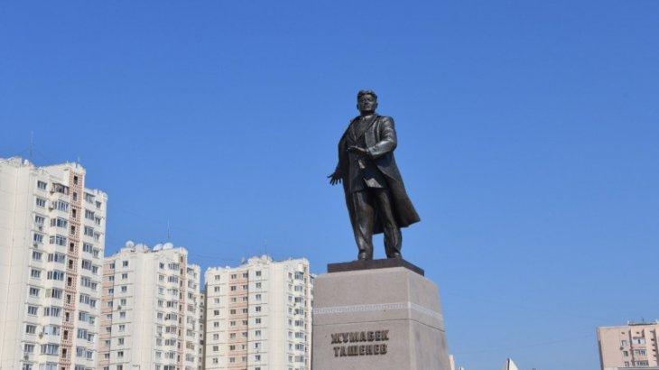 Астанада Жұмабек Тәшеновтің ескерткіші ашылды