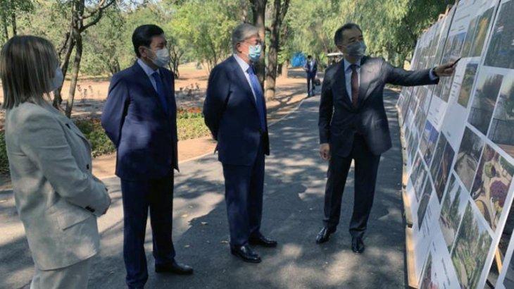 Президенттің Алматыға іс-сапары басталды