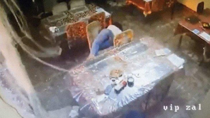 «Дәмхананың терезесі сынып, адамдар ұшып кеткен»: Жамбыл облысындағы жарылыс кезіндегі видео жарияланды
