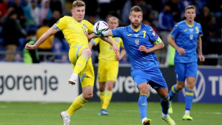 Қазақстан құрамасы соңғы минуттарда гол соғып, Украинамен тең ойнады