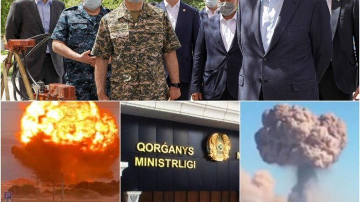 Қорғаныс министрлігі әскери қоймада болған өртке қатысты ресми түсінік берді