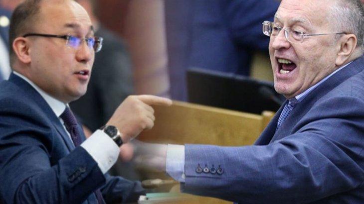 Абаев Жириновскийдің «қазақ Талибанына» жауап қайтарды