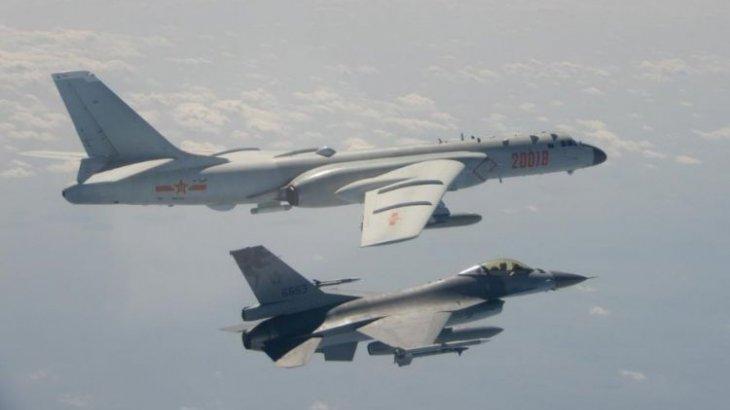 Қытайдың 19 әскери ұшағы Тайвань кеңістігіне кірді