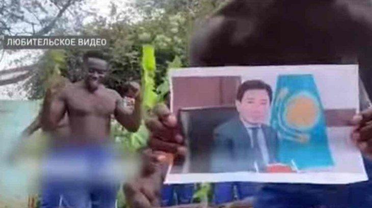 Африкалықтар Өскемен қаласының әкімінен кешірім сұрады (видео)