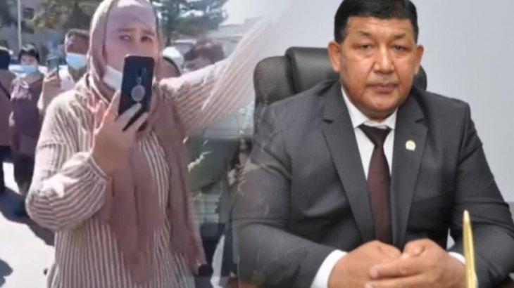 «Әкім кетсін!»: Жамбыл облысының тұрғындары ереуілге шықты