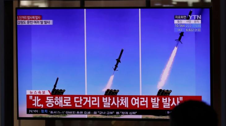 Солтүстік Корея қанатты зымырандарын сынақтан өткізді