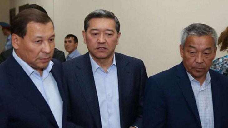 Экс-премьер Серік Ахметов жазасын өтеп шықты