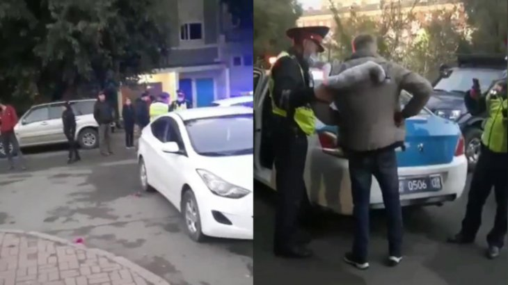 Астанада тұрғындар педофилді полицияға өздері ұстап берген (ВИДЕО)