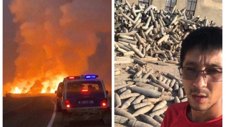 Жамбылдағы жарылыс: Екі журналиске қатысты қозғалған қылмыстық іс тоқтатылды