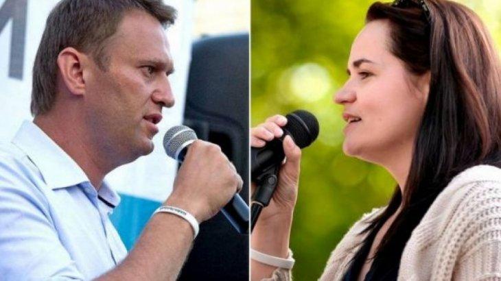 Навальный мен Тихановская Нобель сыйлығына ұсынылды