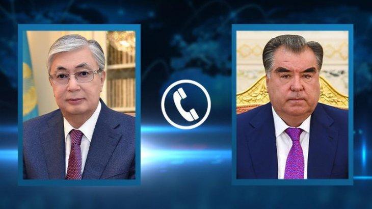 Мемлекет басшысы Тәжікстан Президентімен телефон арқылы сөйлесті