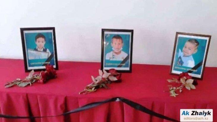 Полицейлер балалардың қайтыс болғанын жасырған: Атыраудағы 3 баланың өліміне қатысты тың дерек шықты