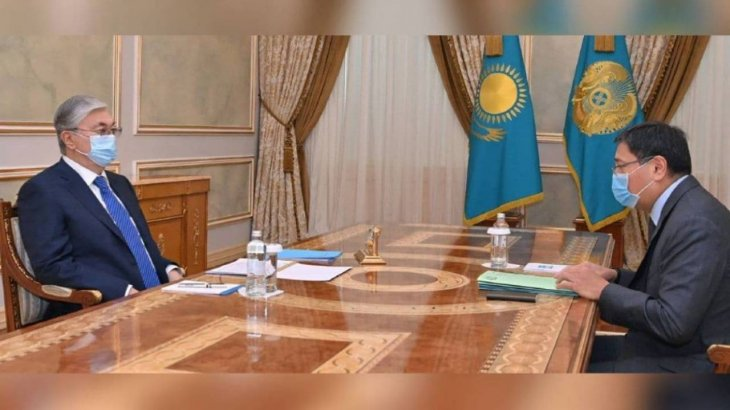 Досаев Тоқаевқа есеп берді: Инфляция 8,9 пайызға дейін қарқын алды