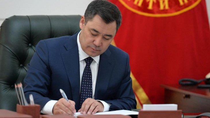 Президент Үкіметті отставкаға жіберу туралы Жарлыққа қол қойды