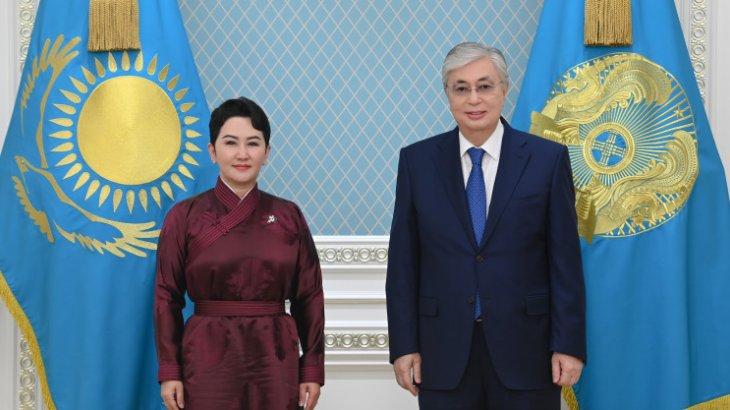 Тоқаев Моңғолияның Сыртқы қатынастар министрі Батмунх Батцэцэгті қабылдады
