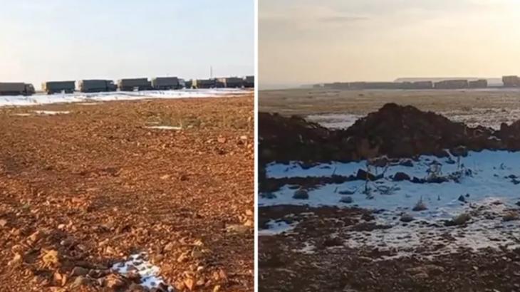 Павлодар облысында көмірге кезек бірнеше шақырымға созылған (видео)